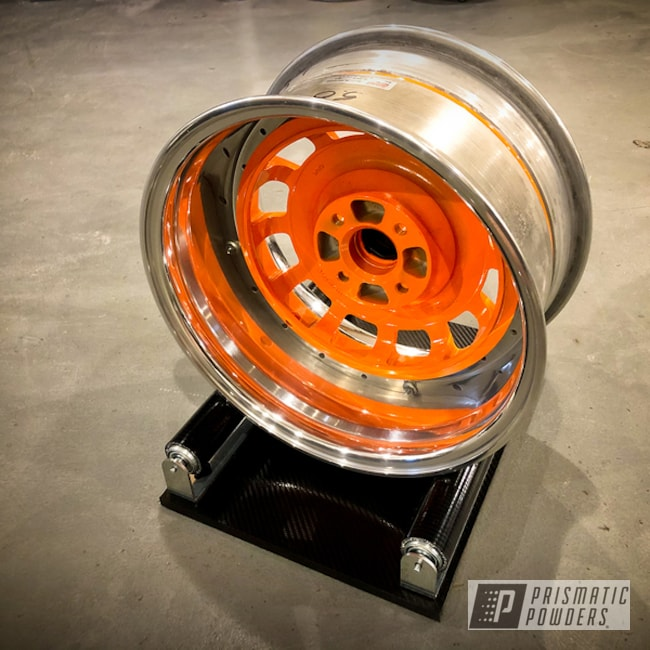 Powder Coated Vw Mk1 Scirocco Wheels In Pps-2974 And Pmb-4209