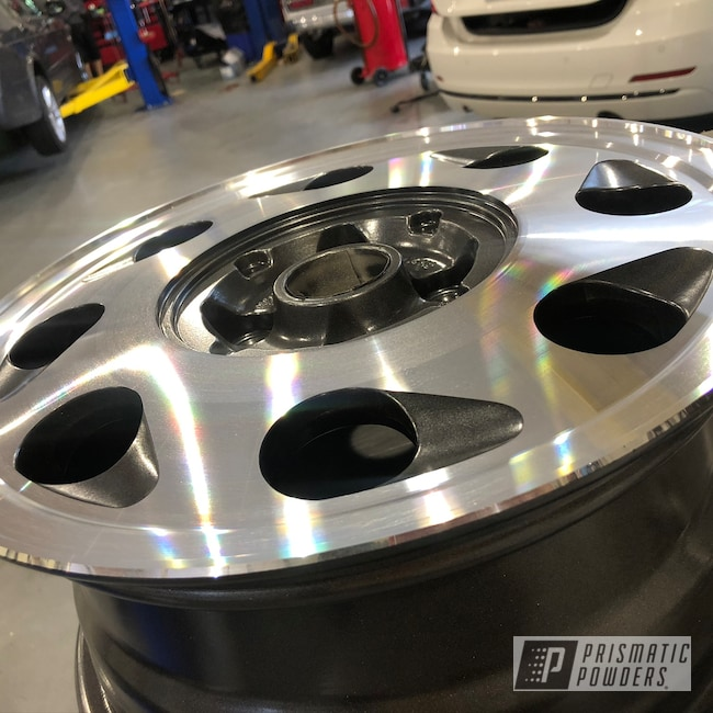 Powder Coating: Wheels,Automotive,Alloy Wheels,Teardrop,Speedway Grey PMB-4911,Aluminum Rims,Volkswagen,Aluminum,VW,Car Wheels