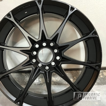 Powder Coated Custom Rims In Ppb-4509 And Pss-1168