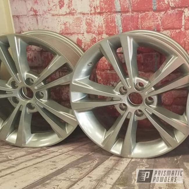 Powder Coated 18 Inch Aluminum Rims In Pps-2974 And Hss-2345