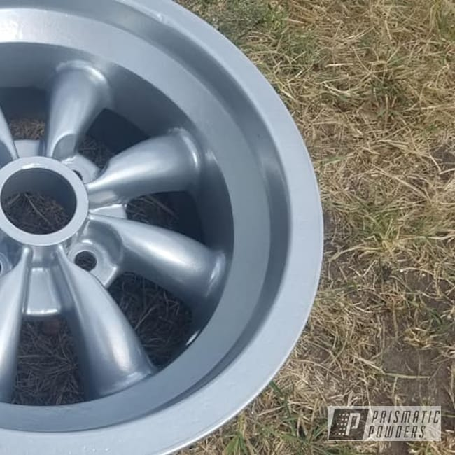 "Powder Coating: Wheels,Automotive,Aluminum Rims,15"" Aluminum Rims,Crushed Silver PMB-1544,Automotive Rims,Automotive Wheels"