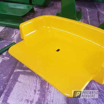 Powder Coated Toy Tractor Parts In Pss-4517