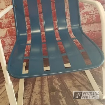 Powder Coated Vintage Patio Chair