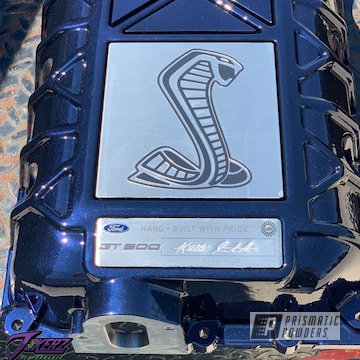 Powder Coated 2020 Gt500 Supercharger In Pmb-1708