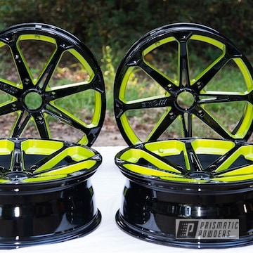Powder Coated 20 Inch M12 Wheels In Pss-0106, Pmb-10050 And Pps-2974