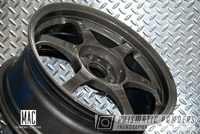 "Powder Coating: Wheels,Automotive,Gateway Grey PMB-7073,Rims,SSR,18"" Wheels,18"" Aluminum Rims"