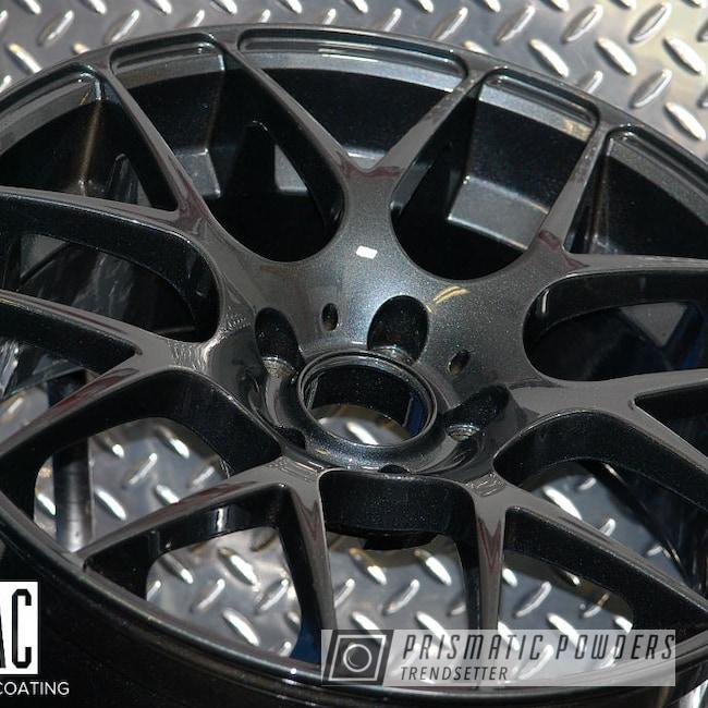 "Powder Coating: Wheels,Automotive,Custom BMW Wheels,BMW,18"" Wheels,Misty Lava PMB-4217,18"" Aluminum Rims,Automotive Rims"