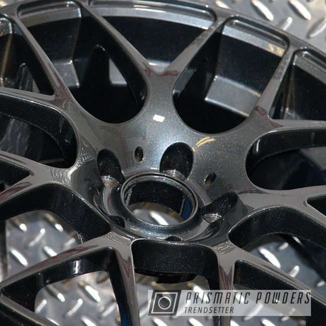 Powder Coated 18 Inch Bmw Rims In Pmb-4217