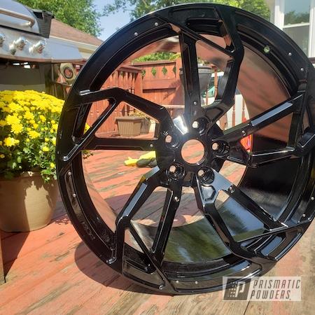 Powder Coating: Wheels,Automotive,Aventador,GLOSS BLACK USS-2603,Lamborghini,Aluminum,Automotive Wheels