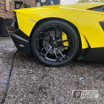 Powder Coated Lamborghini Aventador Wheels In Uss-2603