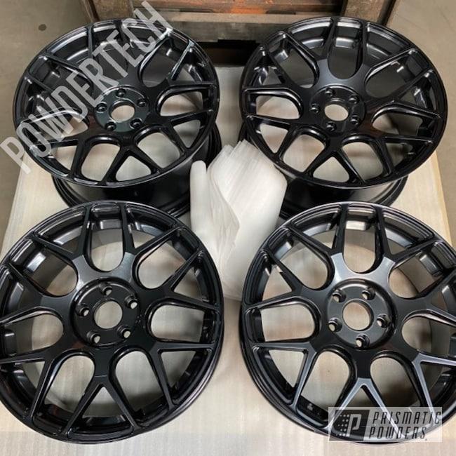 "Powder Coating: Wheels,Automotive,Lexus,Avant Garde Wheels,Lazer Diamond PMB-4156,Charcoal Grey PTS-5792,19"" Aluminum Rims,Lazer Diamond,Staggered Wheels"