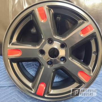 Powder Coated Dodge Nitro Wheels In Pss-1523 And Pss-2266