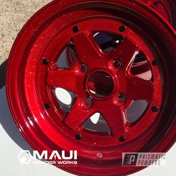 Powder Coated Wheels In Upb-5019