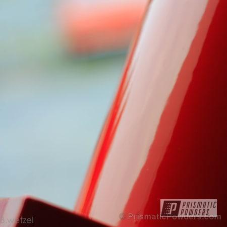 Powder Coating: Custom,Air Tank,Automotive,Clear Vision PPS-2974,Red,powder coating,powder coated,Prismatic Powders,Astatic Red PSS-1738