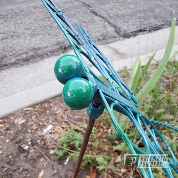 Powder Coated Metal Art Dragonfly In Pmb-1803 And Pps-4765