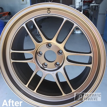 Powder Coated Custom Rim In Pmb-2808