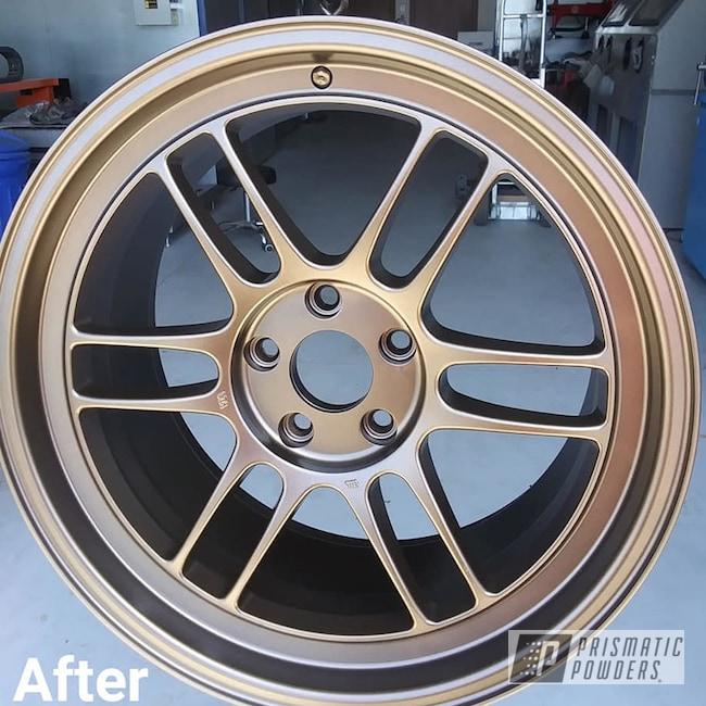 Powder Coated Custom Rim In Pmb-2808