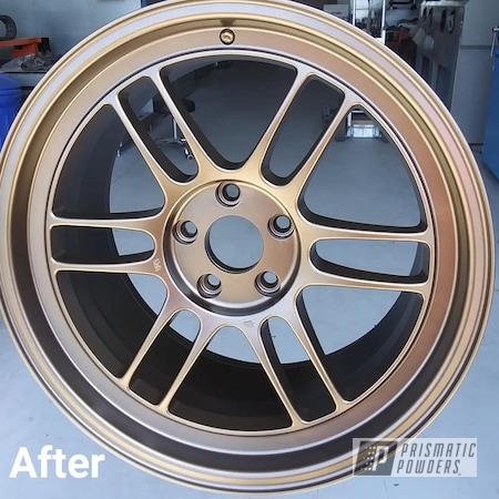 Powder Coating: Wheels,Automotive,Anodized Bronze II PMB-2808