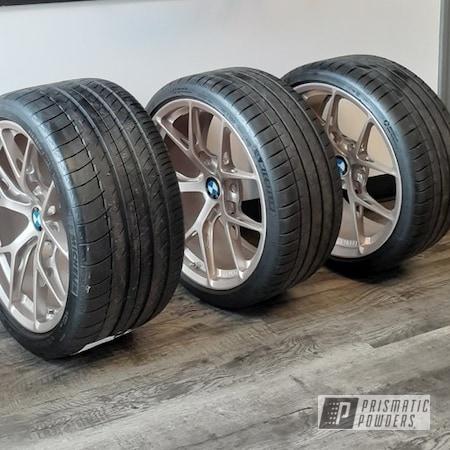 Powder Coating: Wheels,Automotive,BMW,Bazzinga PMB-6648