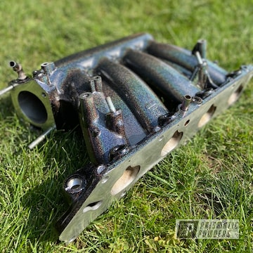 Powder Coated Custom Intake Manifold In Pss-0106 And Pmb-2689