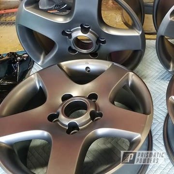 Powder Coated 17 Inch Aluminum Rims In Pmb-5969