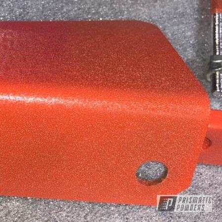 Powder Coating: Custom,X1-Reaper Powder Coating System,Powder Coating Machine,parts,Stark Orange Texture PTB-8141