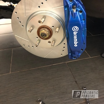 Powder Coated Brembo Brake Calipers In Ppb-7086