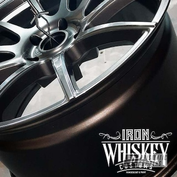 Powder Coated 20 Inch Fuel Rims In Ess-10171 And Pmb-5531