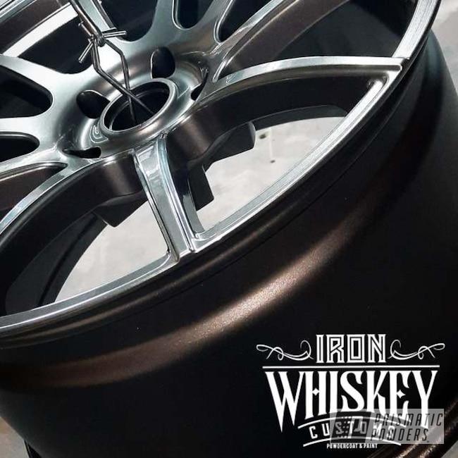 """Powder Coating: Wheels,Zinc Primer ESS-10171,Automotive,20"""",Fuel Wheels,Ultra Charcoal PMB-5531,Automotive Wheels"""