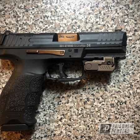 Powder Coating: Handgun,Heckler & Koch VP9,Gun,9mm,Sable Brown II PPB-5972