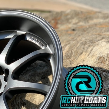 Powder Coated 18 Inch Aluminum Work Rims In Umb-6578