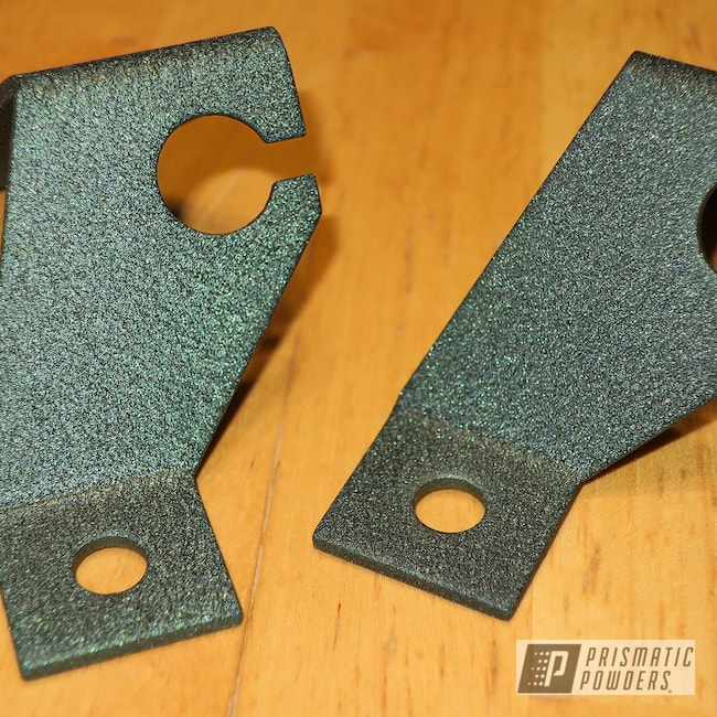 Powder Coating: Custom Coated Parts,SPLATTER EMERALD PWB-2882,brackets