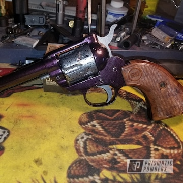 Powder Coated Custom Revolver In Pmb-1042 And Pvs-3014