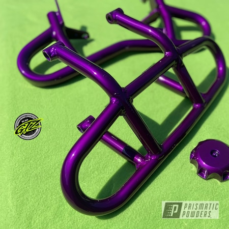 Powder Coating: Automotive,Clear Vision PPS-2974,ATV,Illusion Violet PSS-4514