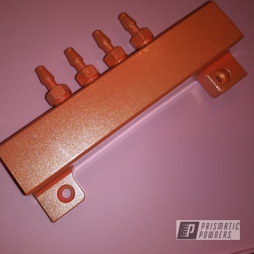 Powder Coated Mazda Car Part In Pms-4620 And Pps-2974