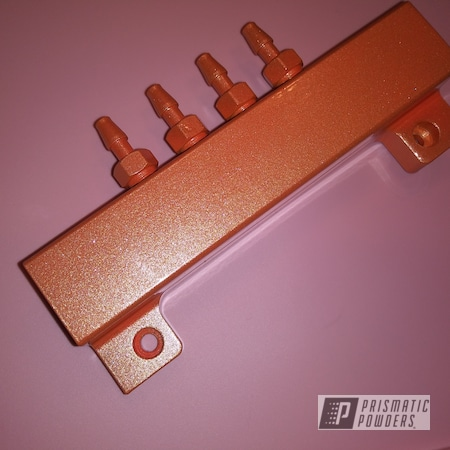 Powder Coating: Automotive,Clear Vision PPS-2974,Mazda,Aluminum,Illusion Orange PMS-4620