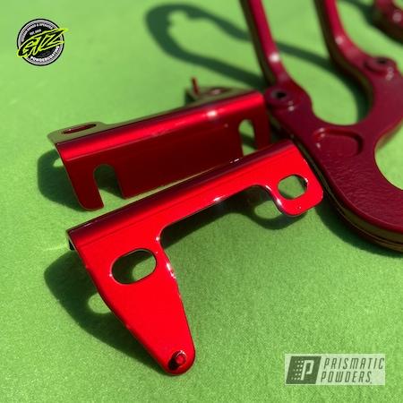 Powder Coating: LOLLYPOP RED UPS-1506,brackets