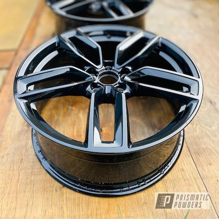 "Powder Coating: Wheels,Automotive,Clear Vision PPS-2974,Black,Audi,19"" Aluminum Rims,Car Parts,Ford Tuxedo PMB-6994"