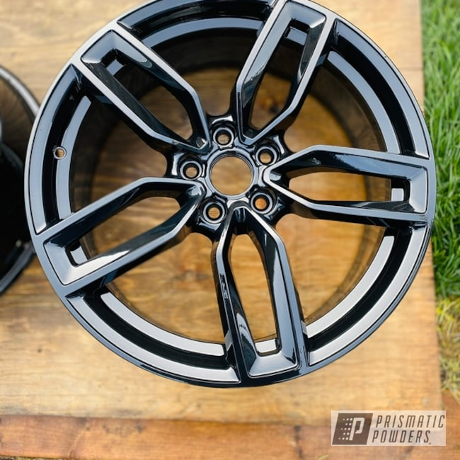 Powder Coated 19 Inch Audi Wheels In Pps-2974 And Pmb-6994