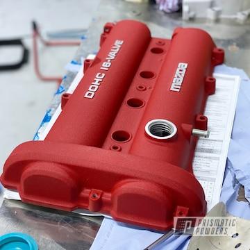 Powder Coated Mazda Valve Cover In Pws-2762