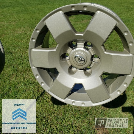 "Powder Coating: Automotive,Alloy Wheels,Tundra,20"" Wheels,Four Winds Grey PMB-5984,Toyota"