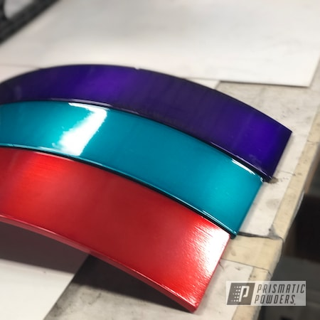 Powder Coating: AQUA CLEAR UPS-1680,Metal Art,Illusion Lime Time PMB-6918,Clear Vision PPS-2974,Accessories,Illusions,Candy,Rancher Red PPB-6415,Illusion Orange PMS-4620,Illusion Smurf PMB-6909,Candy Purple PPS-4442