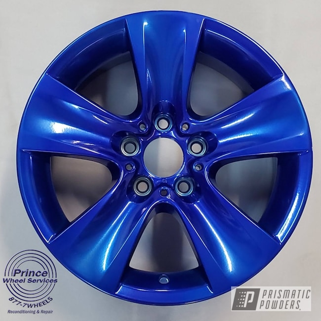 Powder Coated Custom Rims In Upb-6743 And Pss-10300