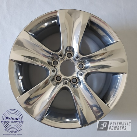 Powder Coating: Wheels,Automotive,Alloy Wheels,Aluminum Rims,BMW,SUPER CHROME II PSS-10300,Aluminum,Automotive Rims,Automotive Parts,Automotive Wheels,Aluminum Wheels