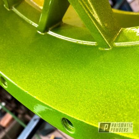 Powder Coating: Wheels,Automotive,Heavy Silver PMS-0517,SXS Wheels,Accessories,ITP,Shocker Yellow PPS-4765
