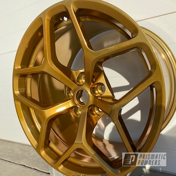 Powder Coated Chevy Camaro Z28 Wheels In Pss-10300 And Pps-5139