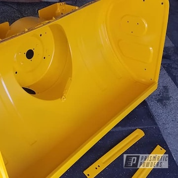 Powder Coated Cub Cadet Snow Blower In Ral 1007