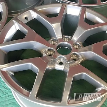 Powder Coated 20 Inch Aluminum Wheels In Pps-2974 And Pss-10300
