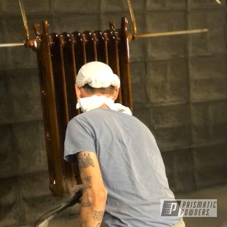 Powder Coating: Aged Bronze,Radiators,Gold Metallic PMS-6374,Monaco Copper PPB-4520