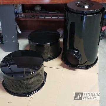 Powder Coated Semi Truck Air Filter In Pss-0106